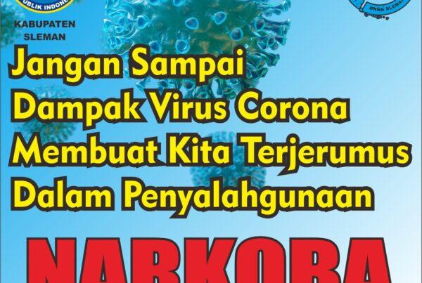 Stop Narkoba Stop Covid-19