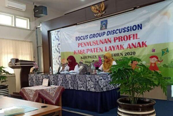Forum Group Discussion Penyusunan Profil Kabupaten Layak Anak di Kabupaten Sleman