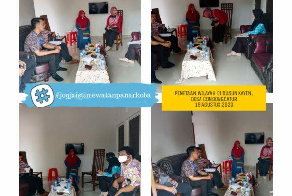 Pemetaan Wilayah Dalam Rangka Asistensi Dan Supervisi Program Pasca Rehabilitasi
