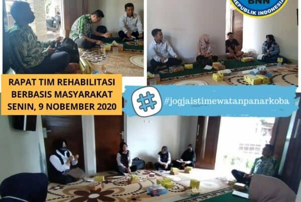 Rapat Tim Rehabilitasi Berbasis Masyarakat