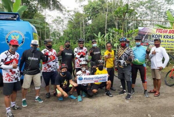 Kampanye Anti Narkoba DAlam Acara Gowes Review Pospit Den Ayu Patuk
