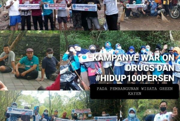 Kampanye Anti Narkoba di Green Kayen