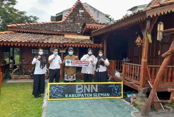 Silaturahmi Kepala BNNK Sleman ke Penggiat Anti Narkoba
