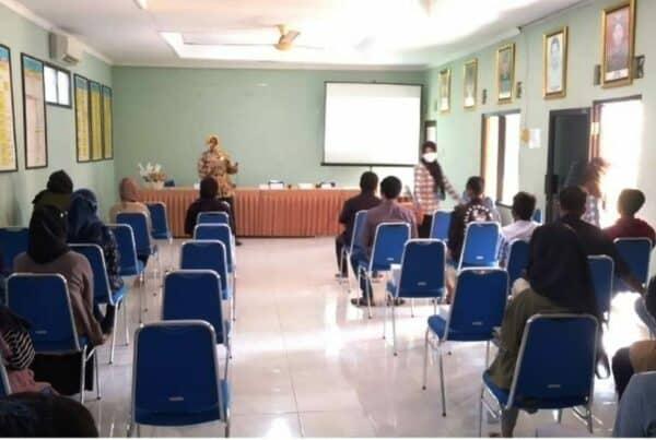 Dalam Rangka Pra HANI 2021, Dinas Kesehatan Kabupaten Sleman Bersinergi dengan BNNK Sleman Adakan Sosialisasi P4GN