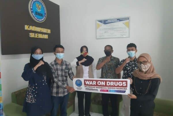 Kunjungan Anggota Karang Taruna Purwo Bhakti ke BNN Kabupaten Sleman