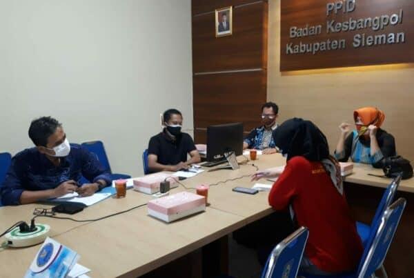 Rapat Koordinasi Terkait SK Tim Terpadu P4GN Kabupaten Sleman
