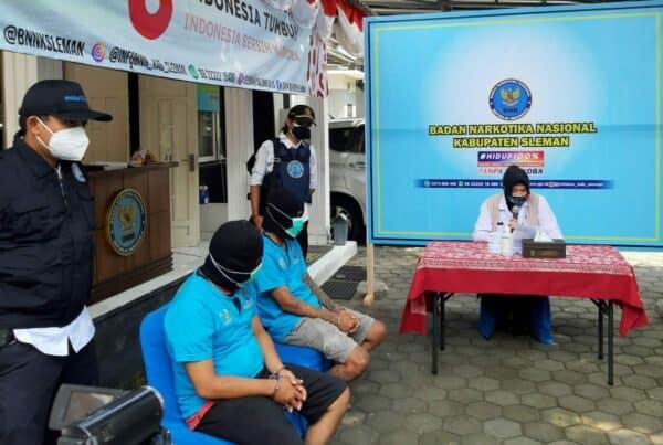 BNNK Sleman Tangkap Kurir Narkoba di Dua Lokasi Berbeda
