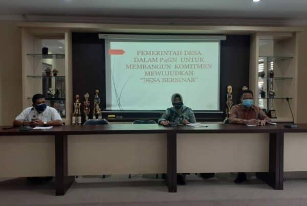 Rapat Koordinasi dalam Rangka Pembentukan IBM Desa/Kalurahan Bersinar di Wilayah Kabupaten Sleman